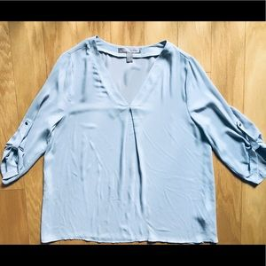Forever 21 Contemporary Baby Blue Tunic